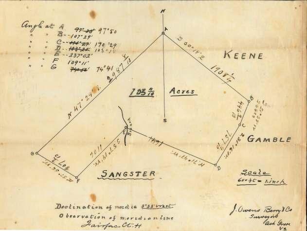 J. Owens Berry Plat - Circa 1895